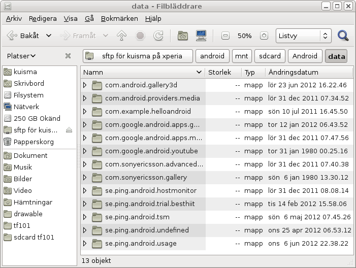 How to run Debian or Ubuntu GNU/Linux on your Android